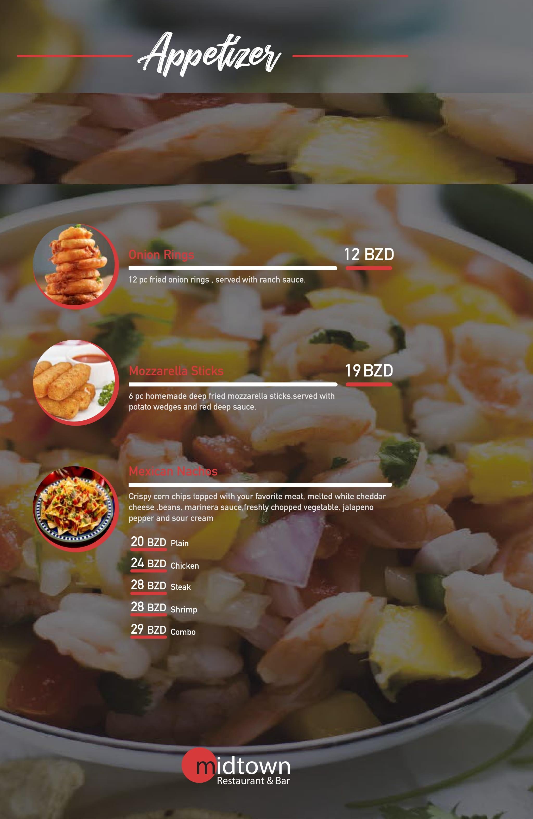 appetizer menu 2